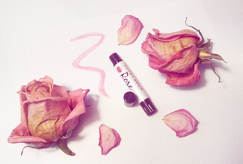Review + Giveaway: Glory Boon  – Rose – Vegan Mineral Lipstick