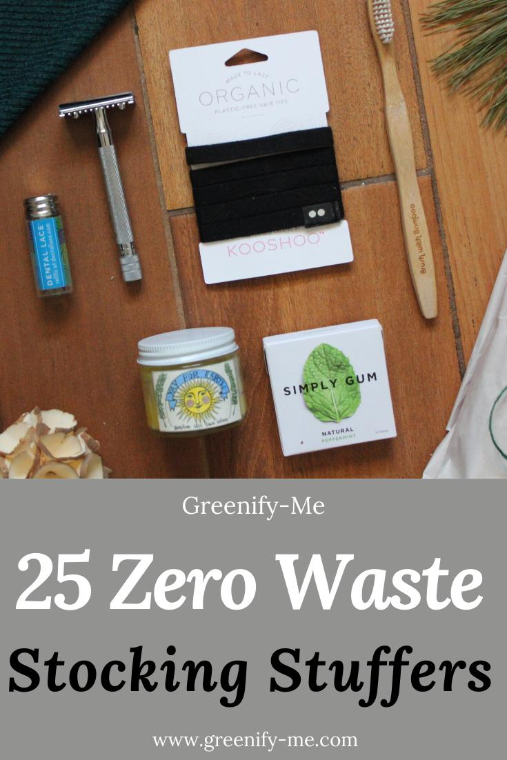 25 Zero Waste Stocking Stuffers