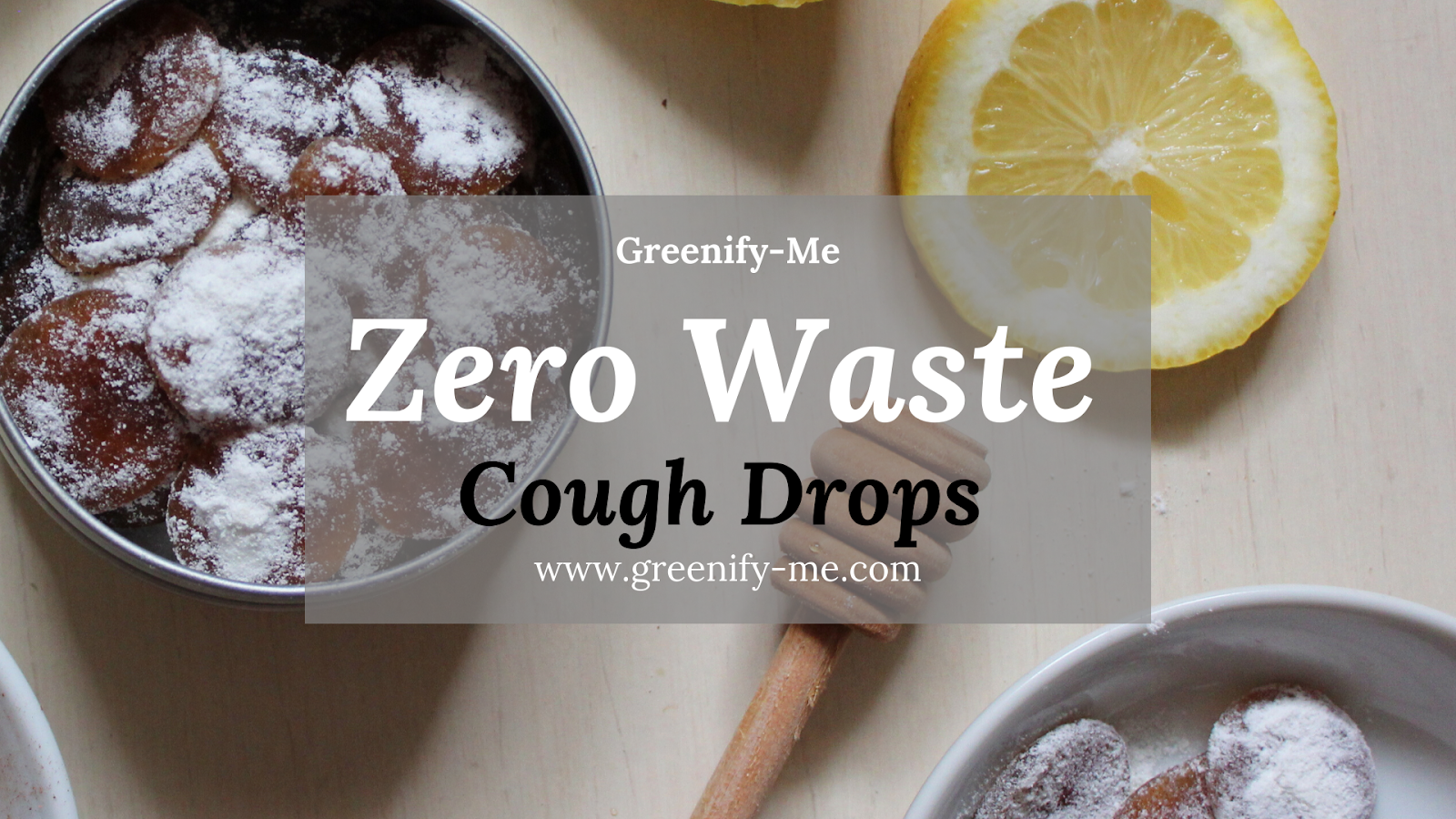 zero waste cough drops