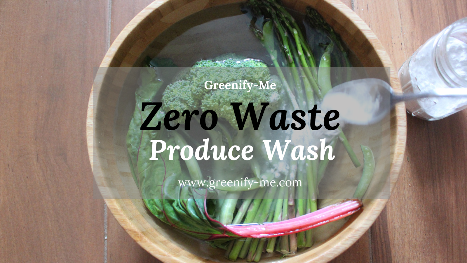 zero waste produce wash