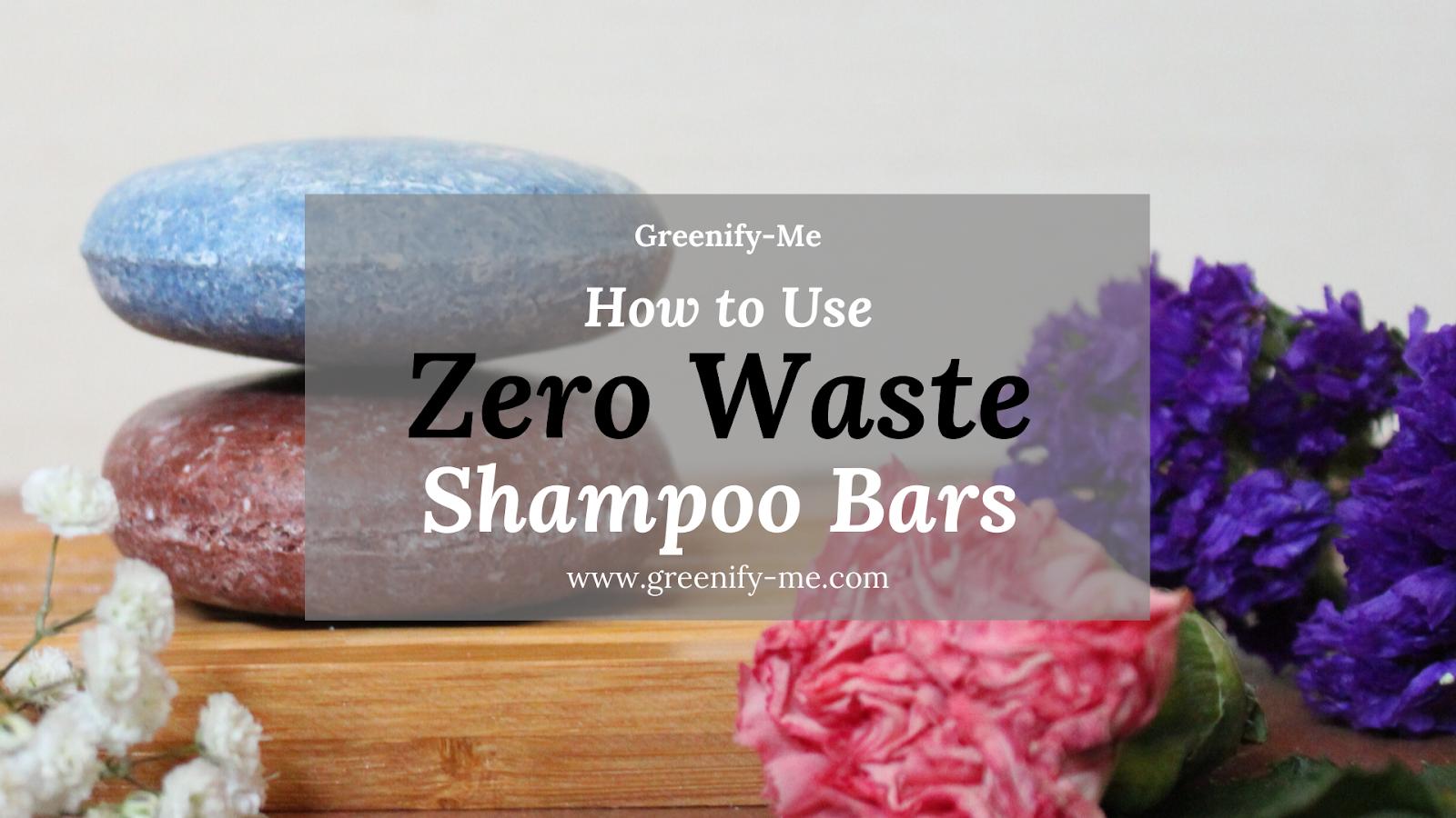 Zero Waste Shampoo Bars