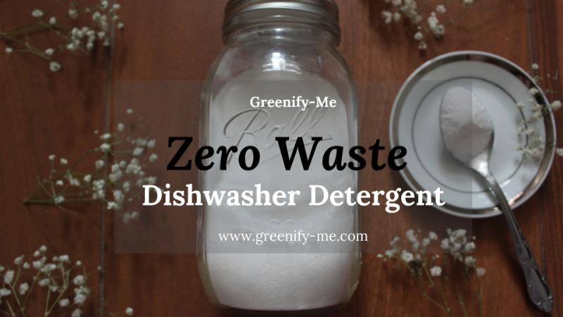 zero waste dishwasher detergent