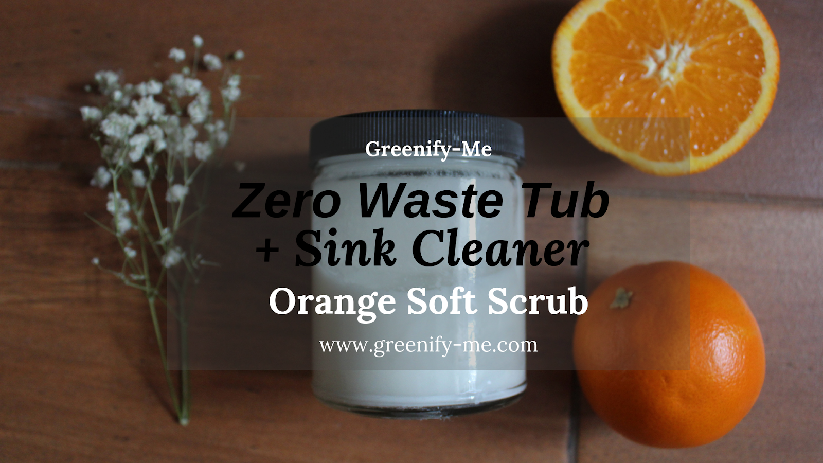 zero waste tub and sink cleaner