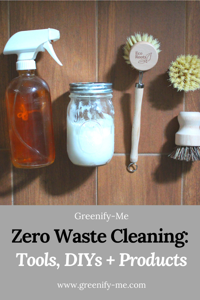 Zero Waste Cleaning Guide: Tools, DIYS + Products