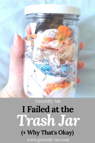 I Failed at The Trash Jar (+ Why That's Okay)