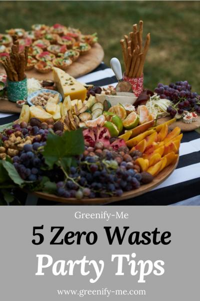 5 Zero Waste Party Tips