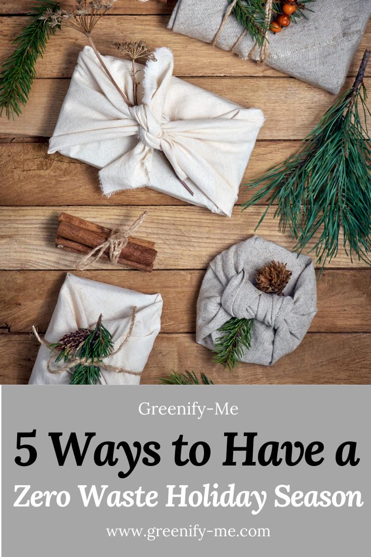 5 Ways to Have a Zero Waste Holiday Season