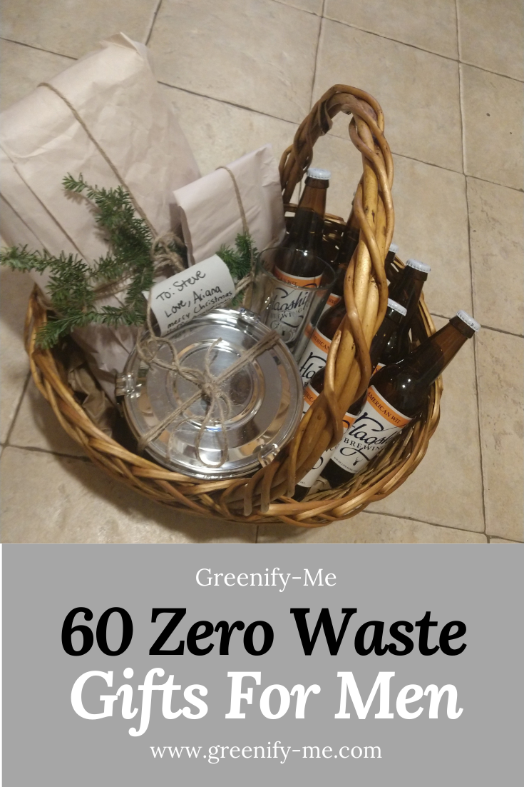 60 Zero Waste Gifts for Men