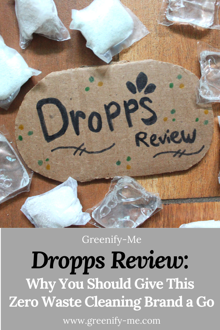 Dropps Review: Why You Should Give This Zero Waste Cleaning Brand a Go