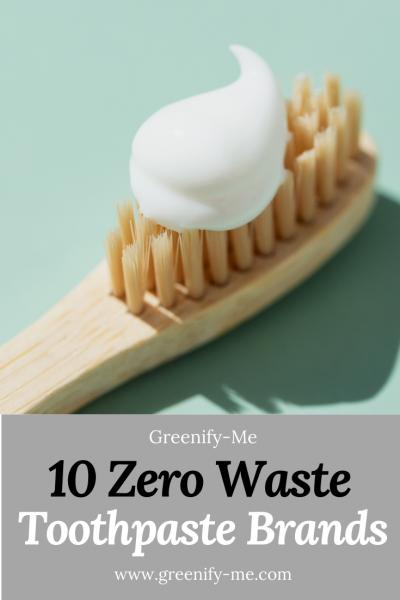 10 Zero Waste Toothpaste Brands