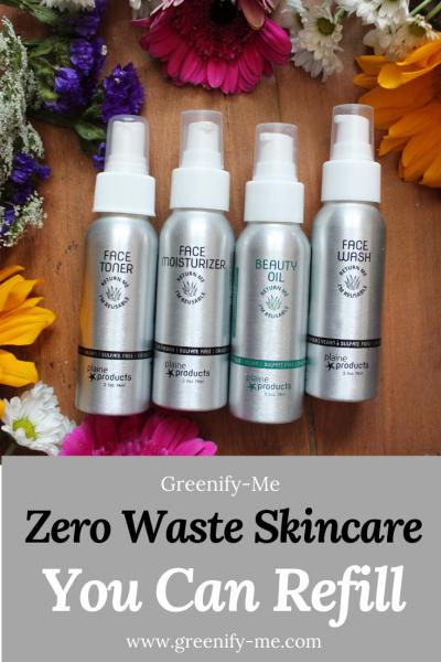 Zero Waste Skincare You Can Refill