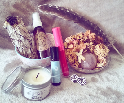 Review: August Goddess Provisions Box – Meditate + Celebrate
