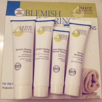 Review: Juice Beauty – 30 Day Blemish Clearing Solutions Kit