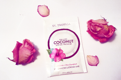 Review: St. Tropica – Organic Coconut Hot Oil Hair Mask