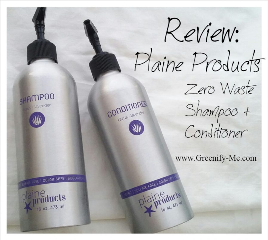 Review: Plaine Products – Zero Waste Shampoo + Conditioner