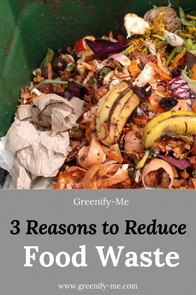 3 Reasons to Reduce Food Waste