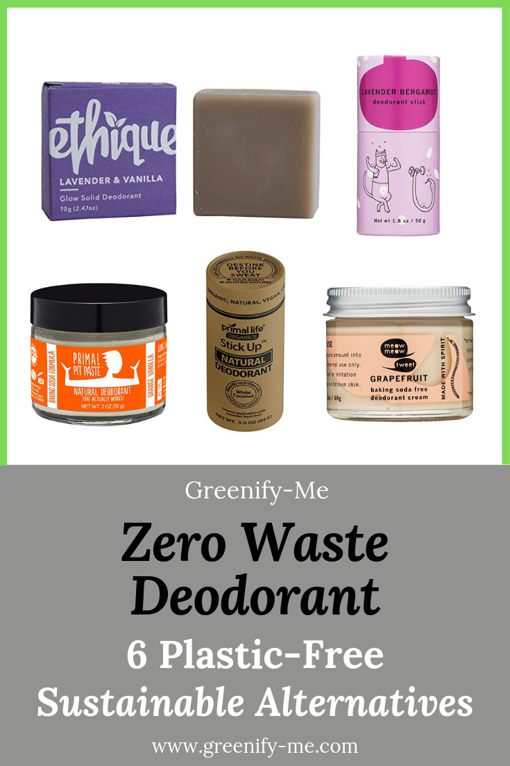Zero Waste Deodorant: 6 Plastic-Free, Sustainable Alternatives