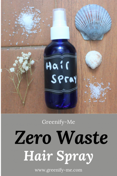 Zero Waste Hair Spray