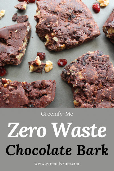 Zero Waste Chocolate Bark