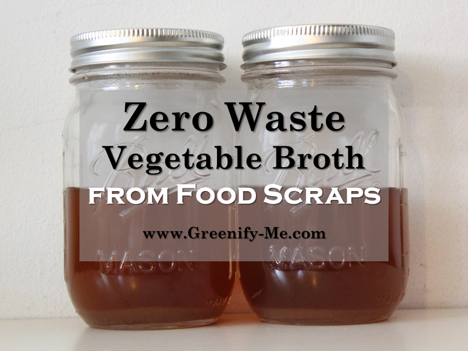 zero waste vegetable broth