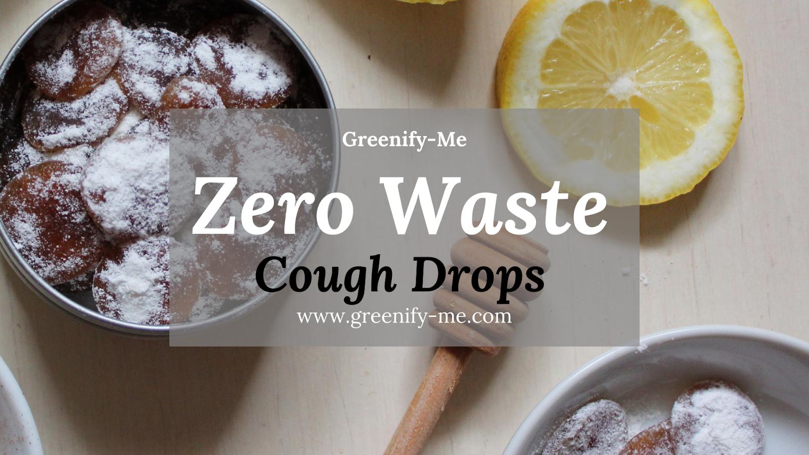 zero waste cough drops