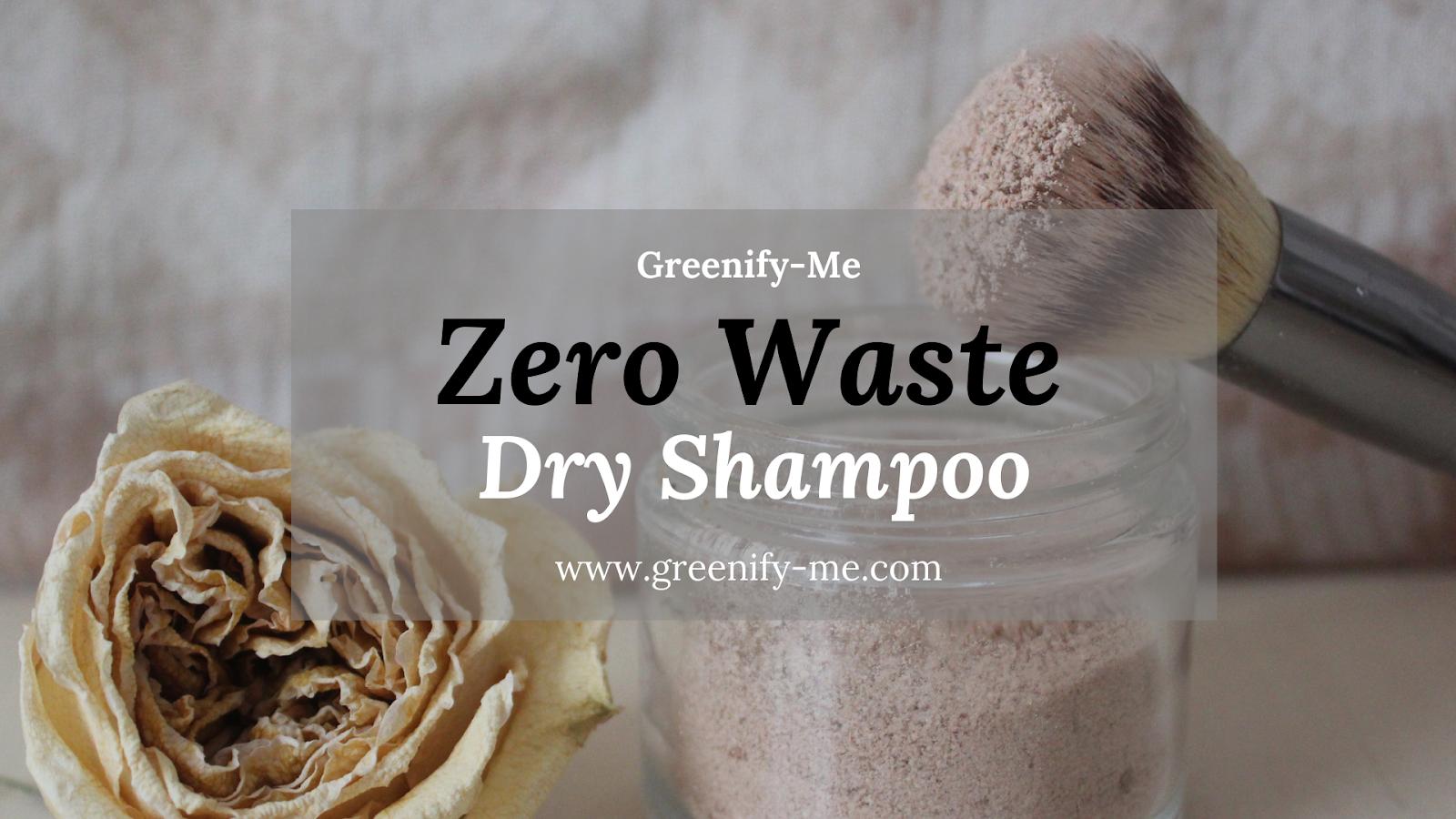 zero waste dry shampoo