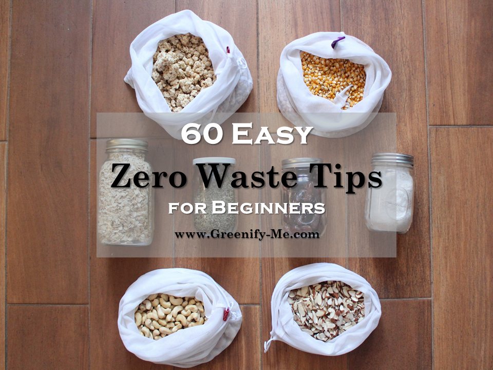 zero waste tips for beginners