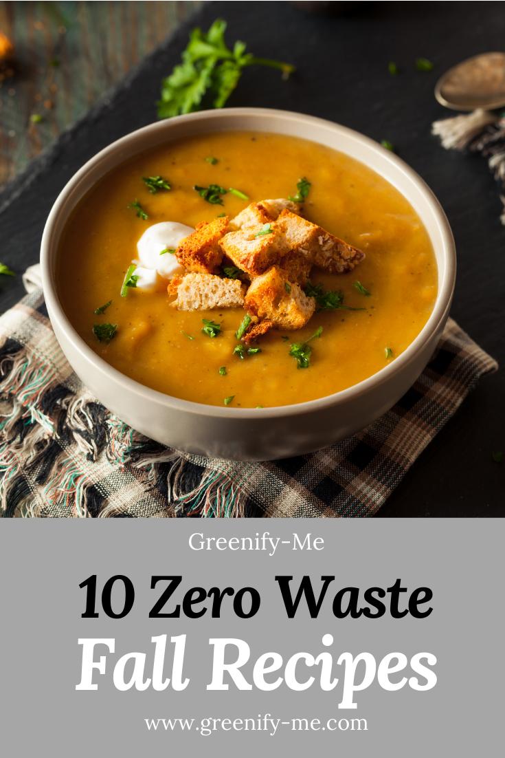 10 Zero Waste Fall Recipes