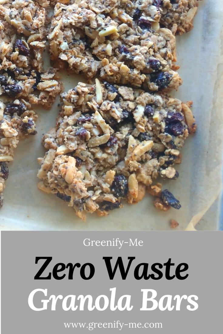 Zero Waste Granola Bars
