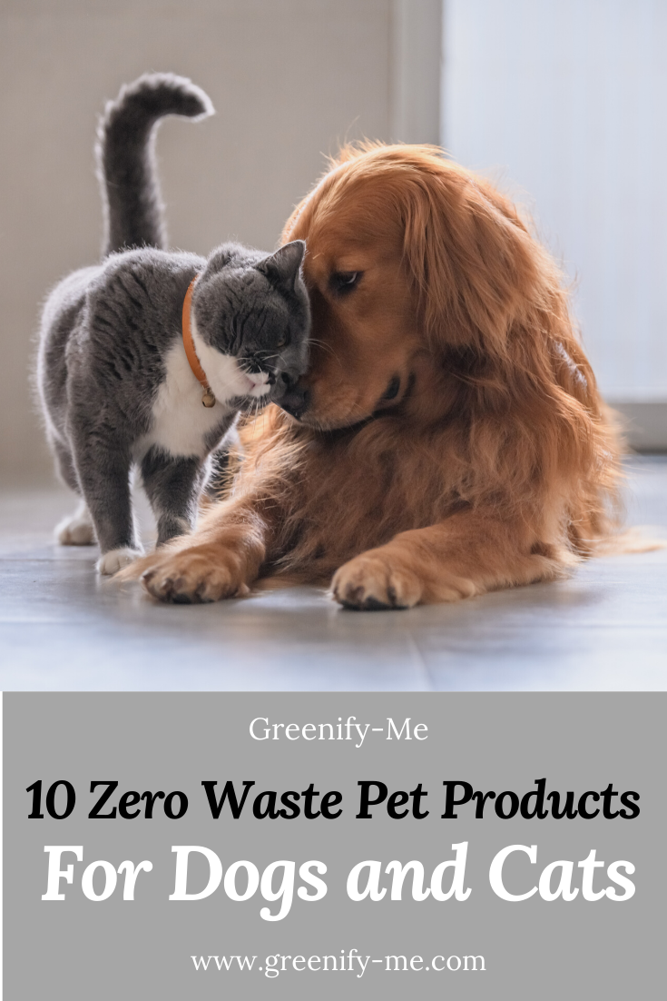 10 Zero Waste Pet Products For Dogs and Cats