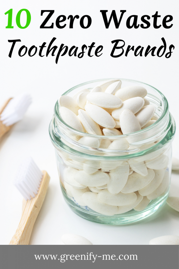 10 Zero Waste Toothpaste Brands