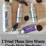 I Tried These Zero Waste Curly Hair Products: This is What I Think