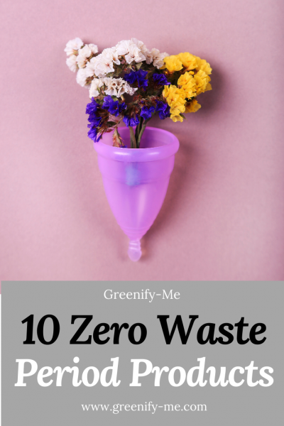 10 Zero Waste Period Products