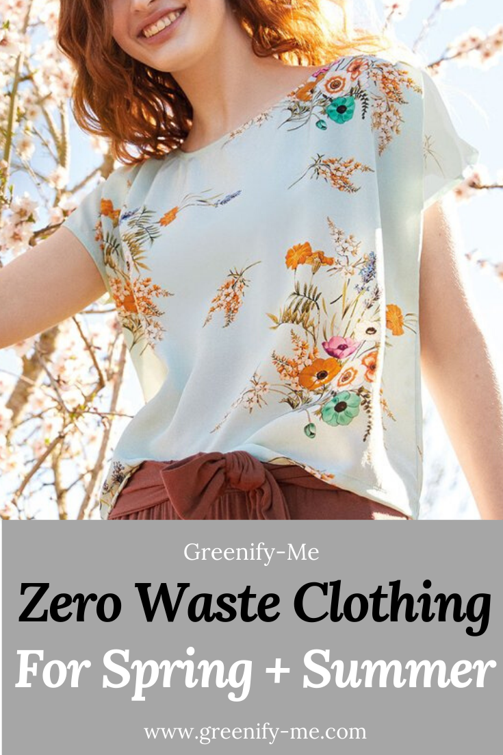 15 Zero Waste Clothing Pieces to Add to Your Wardrobe This Spring + Summer