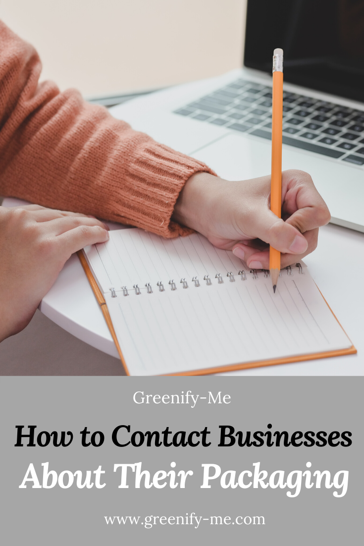 How to Contact Businesses About Their Packaging