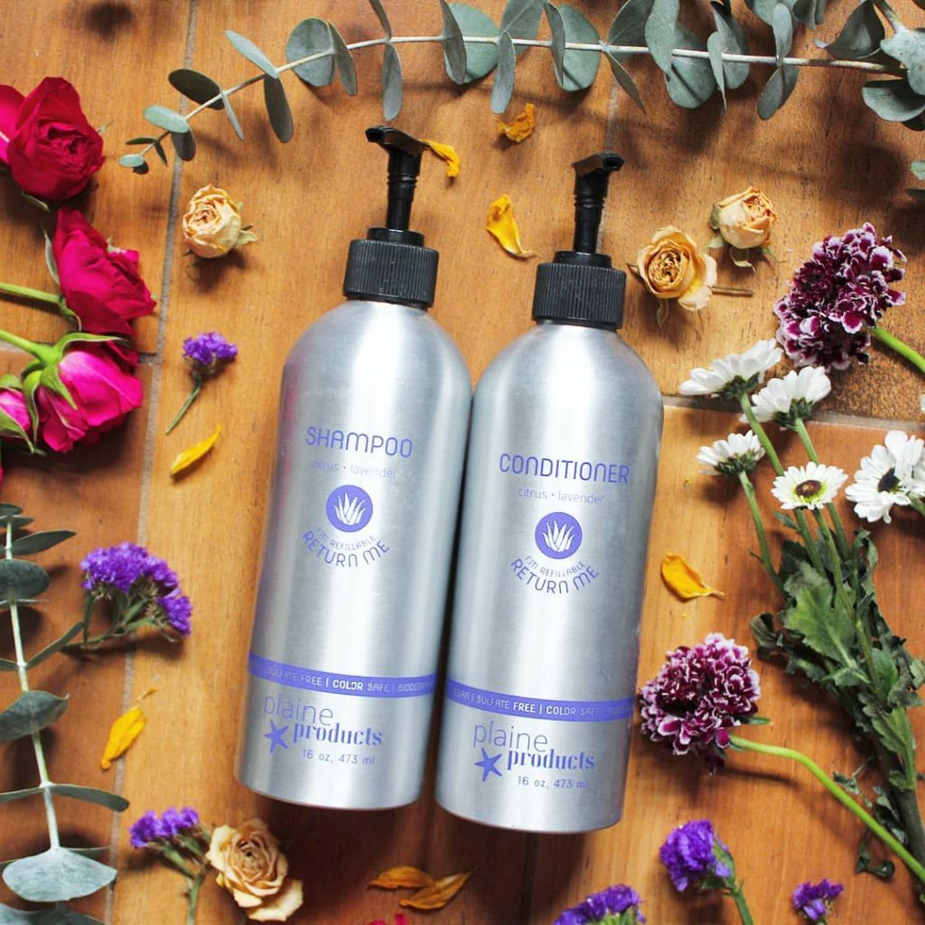 Plaine Products: 11 Zero Waste Shampoo Brands for Sustainable Hair Care