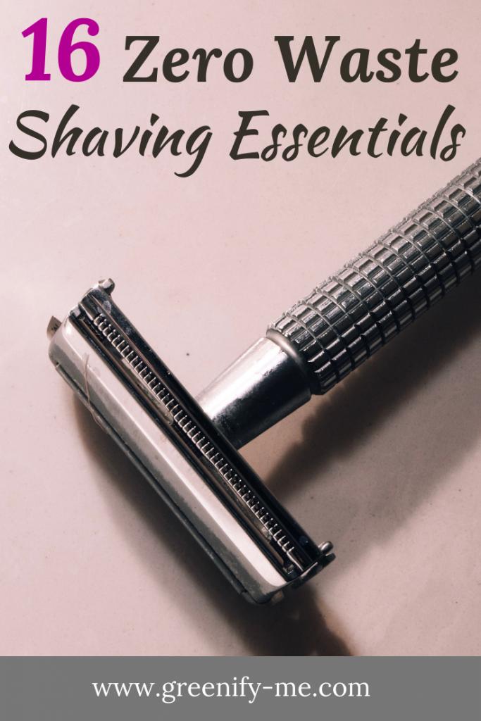 Zero Waste Shaving Guide: The Best Plastic Free Shaving Essentials