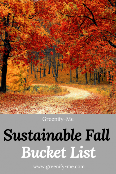 Sustainable Fall Bucket List for 2021